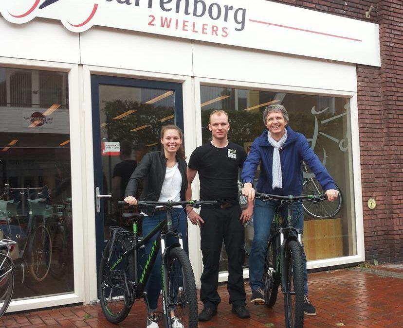 Beschikbaar stellen fietsen voor een sponsortocht door Nederland!
